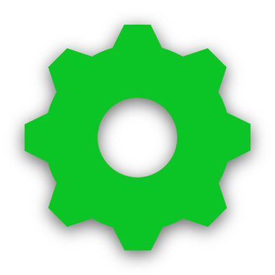 Quidient Reality Engine Gear Icon